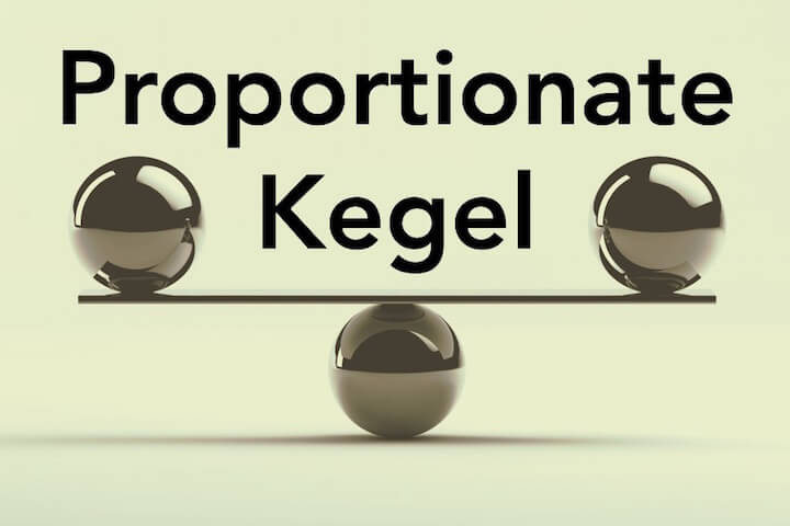 Proportionate Kegel